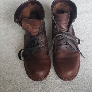 Wolverine mens leather boots